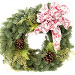 Wreath Product Shots – 4 – Wreath with White Bow – October 04, 2016